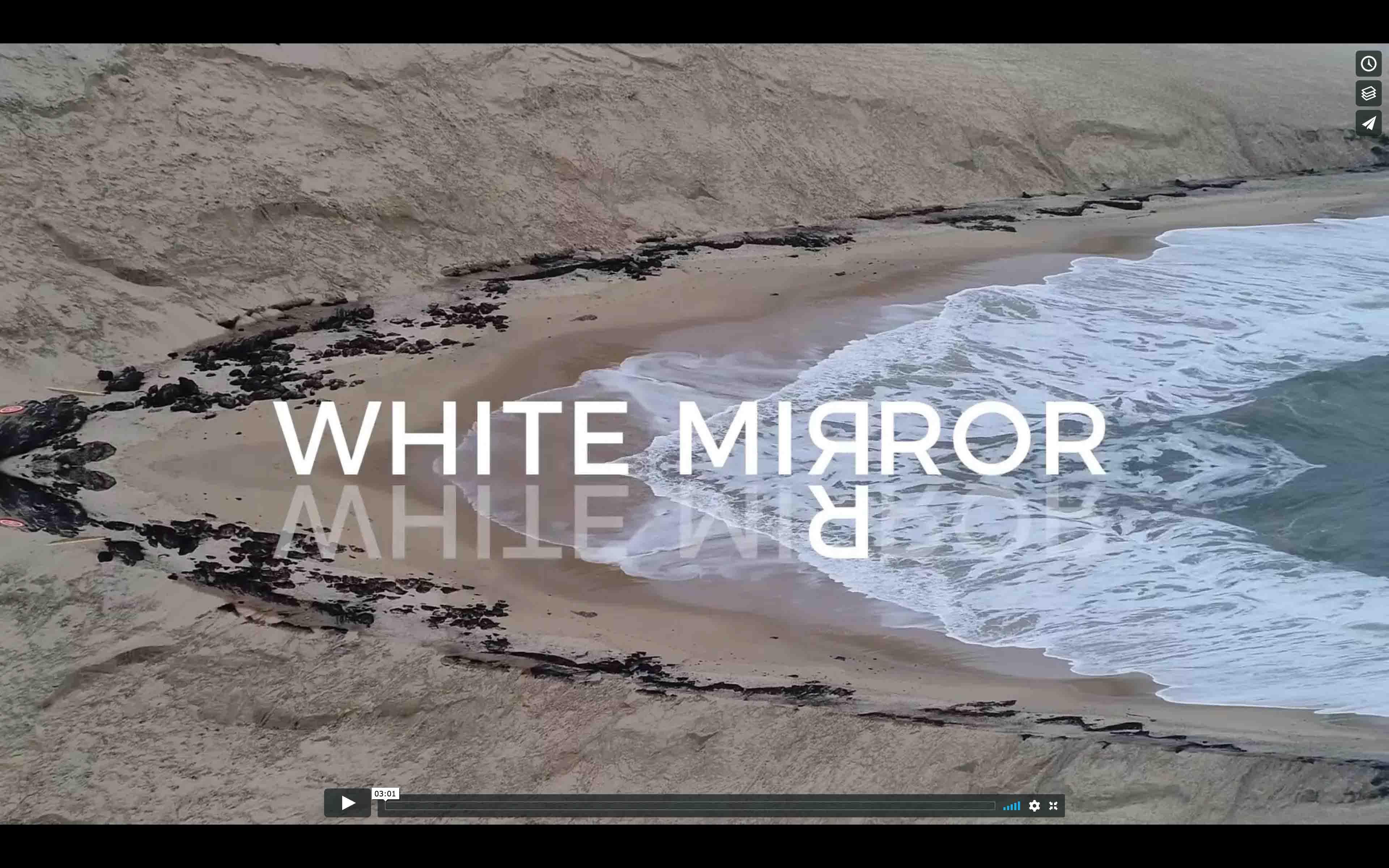 ECRAN WHITE MIRROR NL