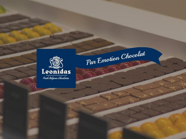 couverture du projet emotion chocolat leonidas
