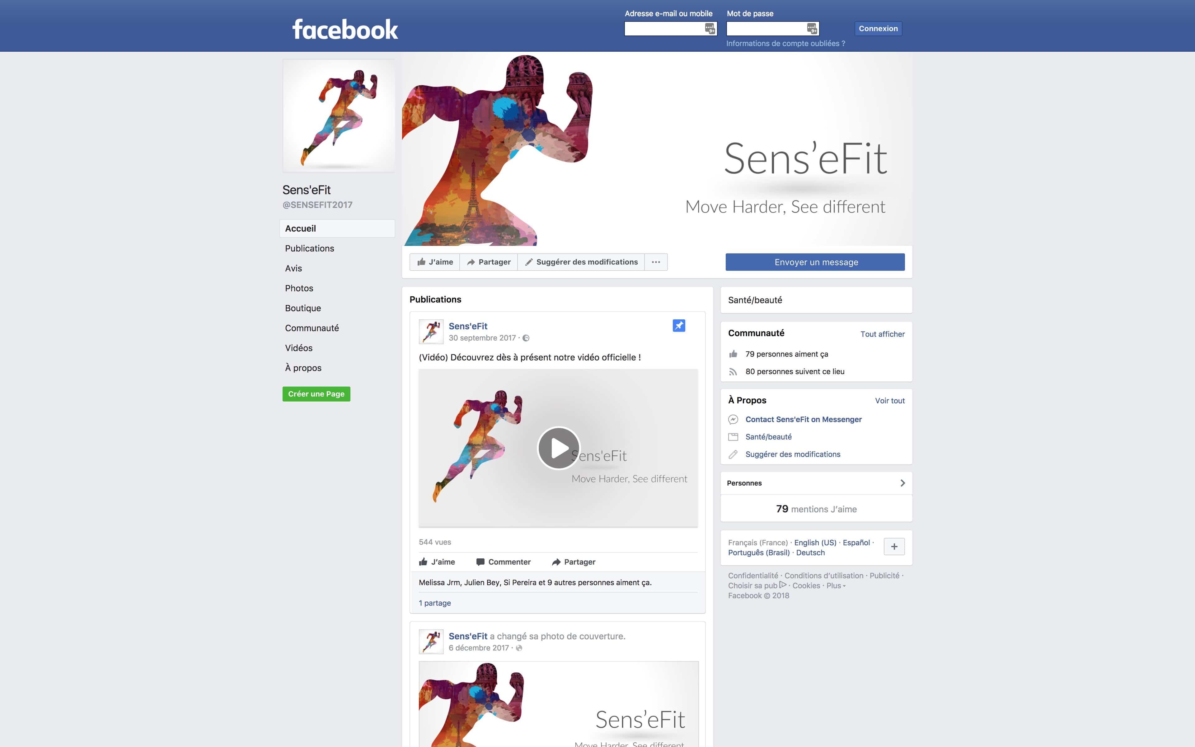 facebook sense fit