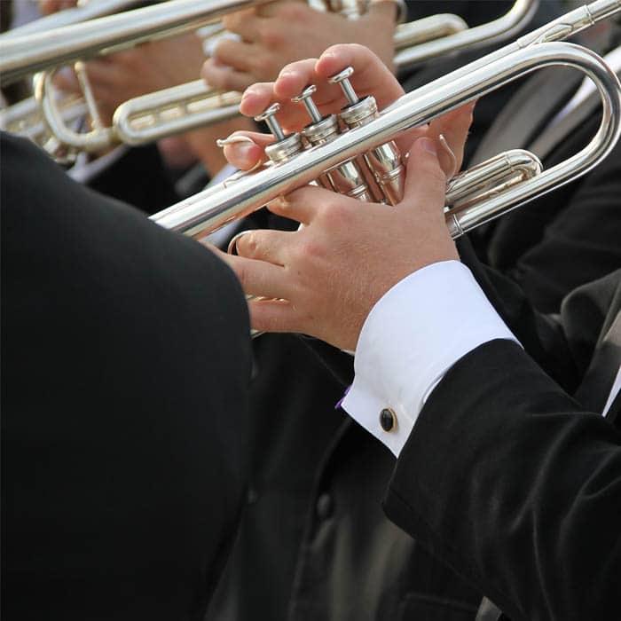 Photo d'un trompettiste - Présentation Nicolas LORENZI