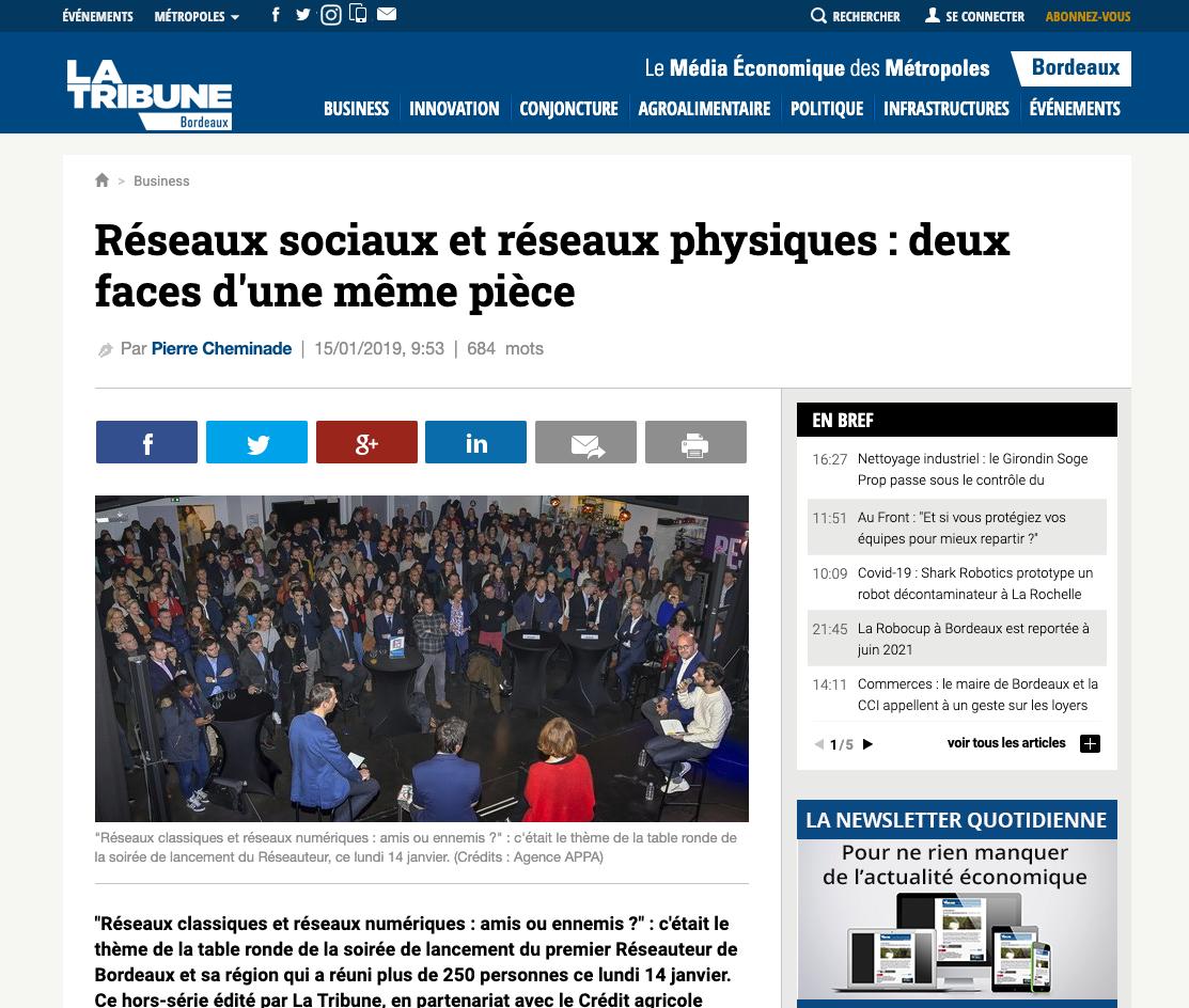 Intervention La Tribune Nicolas Lorenzi